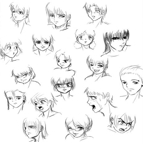 Книги о том как рисовать мангу и аниме